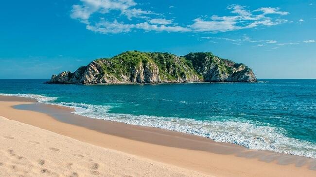 Bahía Cacaluta en huatulco