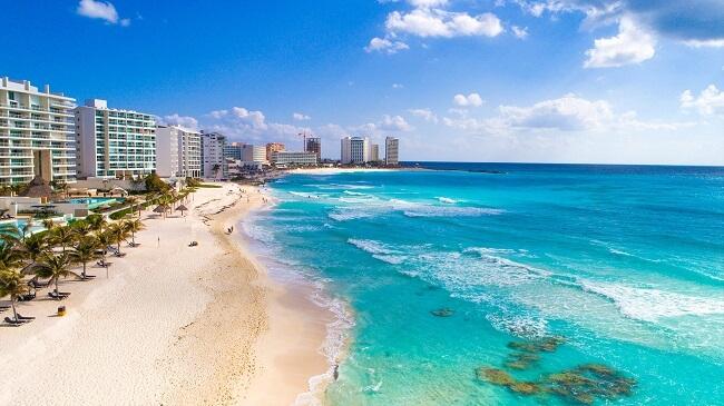 Paisaje de Cancún