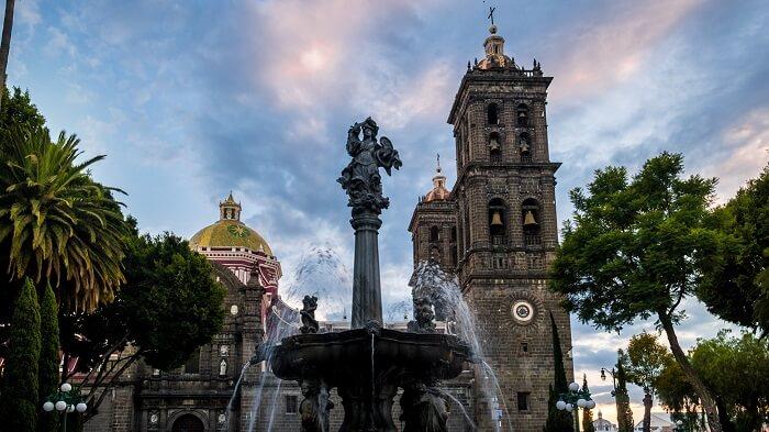 Ciudad de Puebla en México