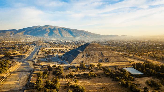 piramides de teotihuacan y lugares turisticos mexico