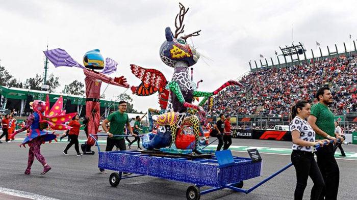 inauguracion gran premio de mexico