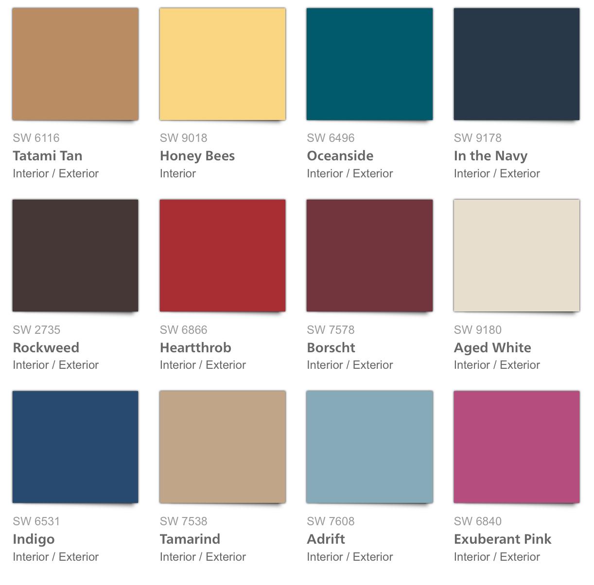 Colores de pintura para el interior de tu hogar