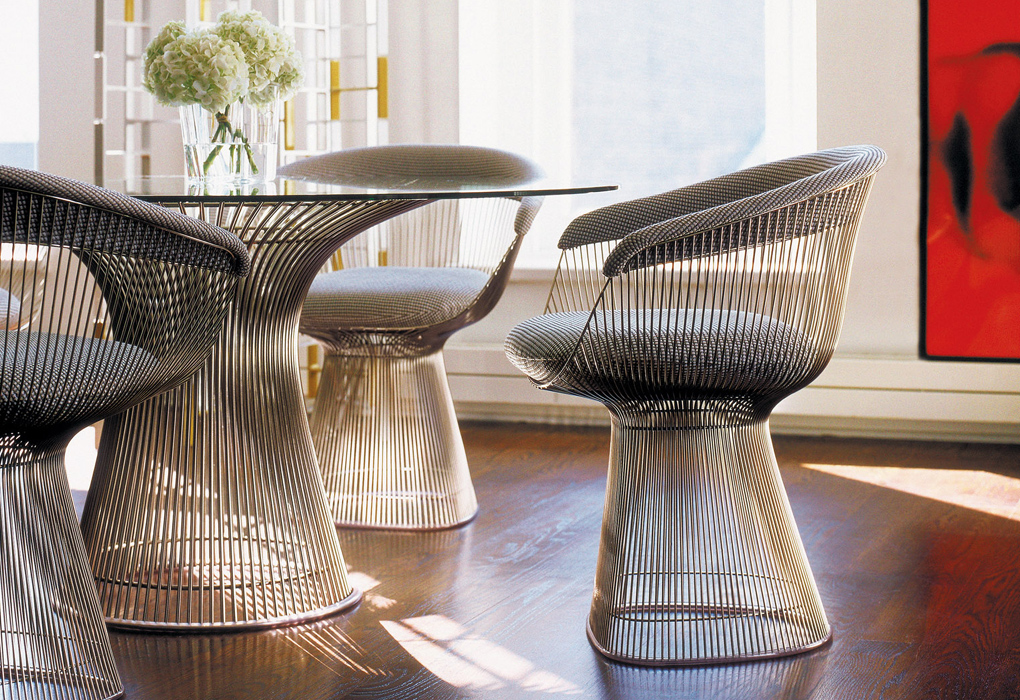 DESIGN ICONS WARREN PLATNER  vkvvisualscomblog