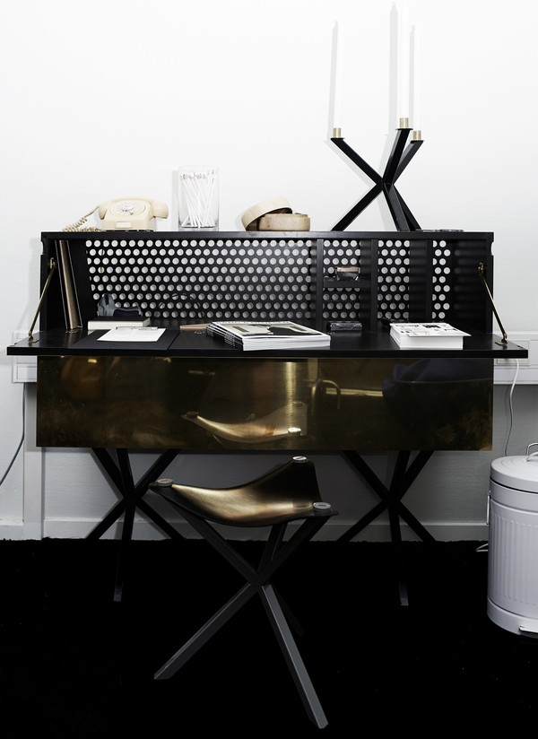 Black and Gold Interiors by VKV Visuals