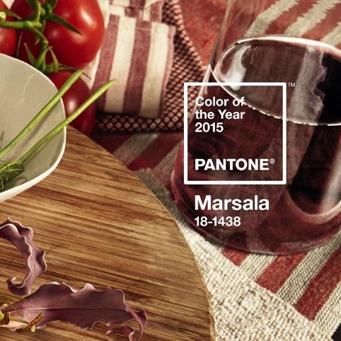 Pantone Marsala