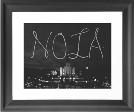 A New Orleans Art Print via Dot and Bo