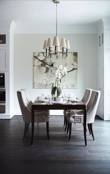 Another Ventana Chandelier in this muted interior