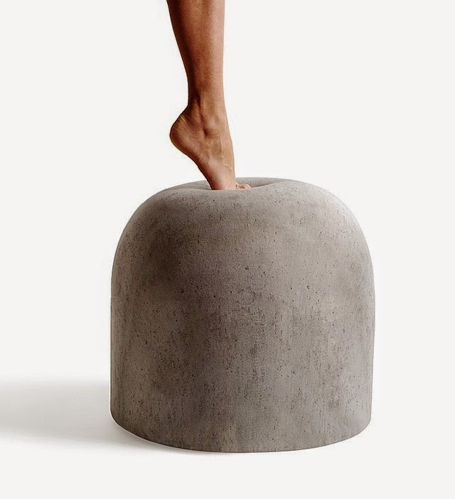 BARD footstool by Internoitaliano at InterioDesign - via French By Design