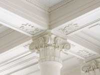 HIGH AND ORNATE CEILINGS
