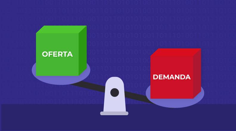 En una ICO, entran en juego la oferta y demanda
