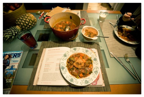 Basic Stew Recipe: beef and ale