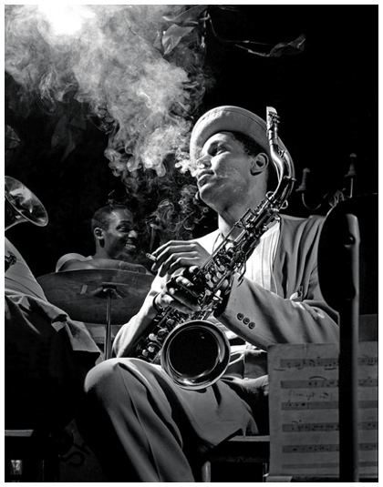 Dexter Gordon, by Herman Leonard