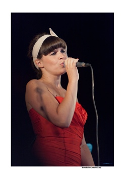 Lady Linn op Jazz Middelheim door Bruno Bollaert
