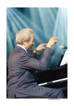 Allen Toussaint op Jazz Middelheim door Bruno Bollaert