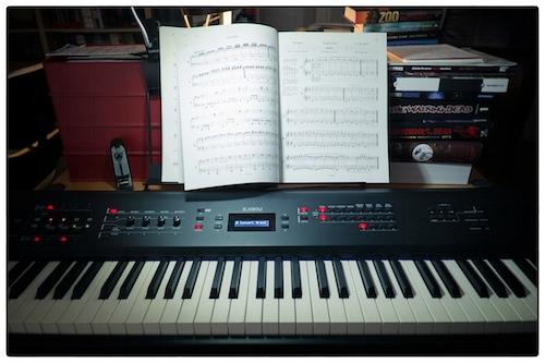 Piano door Bruno Bollaert