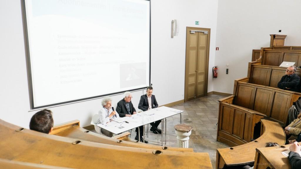 Frank Pauwels, Daan Bauwens en Pieter Mannaerts