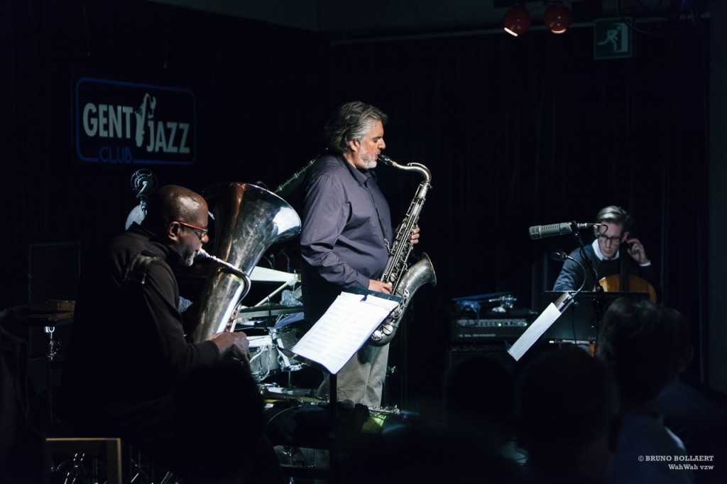 Tony Malaby's Tubacello, Gent Jazz Club, Gent, BE, 26.10.2015