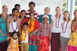celebrating festival min Alliance Nepal   Working Towards a Better Future