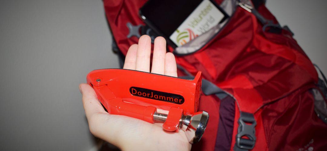 DSC 0308.2 The DoorJammer   Travel Gadget Review   Volunteer World