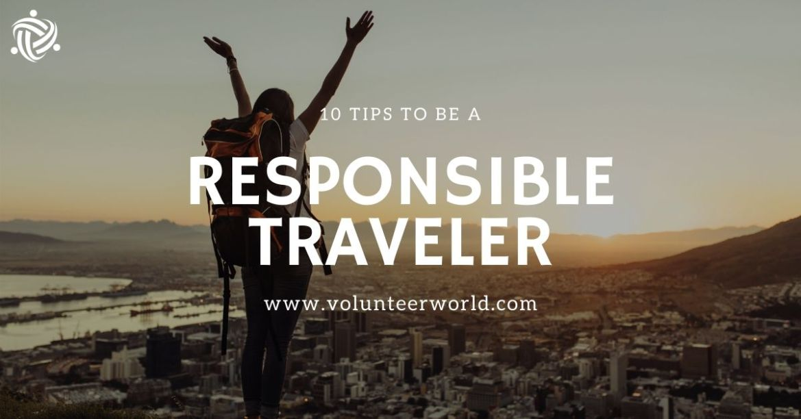 Blogpost feat image 10 Tips to be a Responsible Traveler