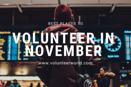 Blogpost feat image 1 Best Places to Volunteer in November [2021]