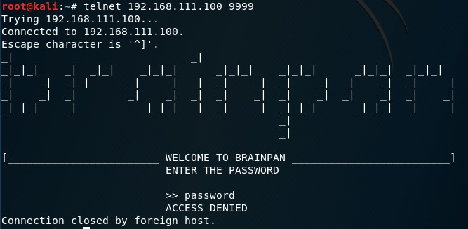Brainpan: 1 - Vulnhub Writeup - Will's Security Blog