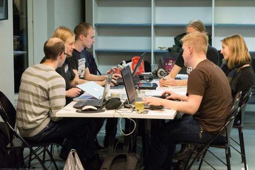 Our team. Photo: Quantum Game Jam