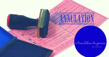 Que faire en cas d'annulation de mon permis de conduire ?