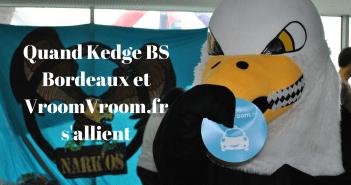 Kedge BS Bordeaux et VroomVroom.fr