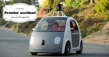 Premier accident pour la Google Car