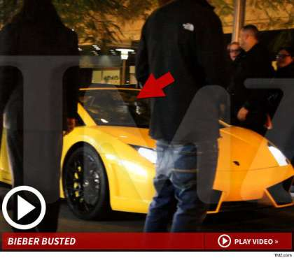 The traffic stop and Bieber's subsequent arrest reportedly did not go smoothly.