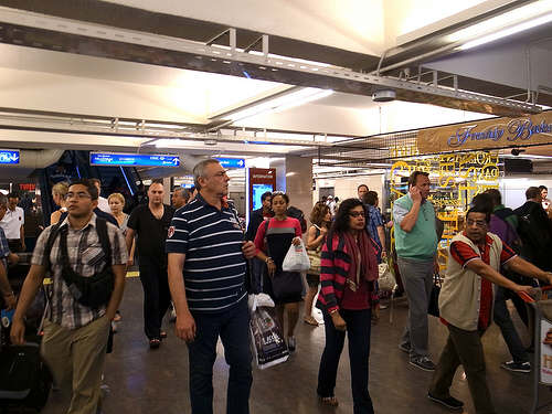 Crowded-Airport