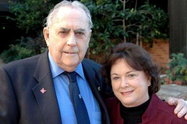 Jack Brabham and Lady Margaret