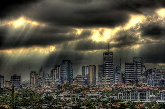 Storm in Brisbane