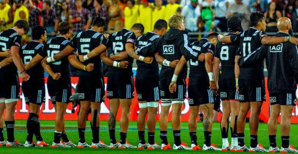 NZ Sevens team