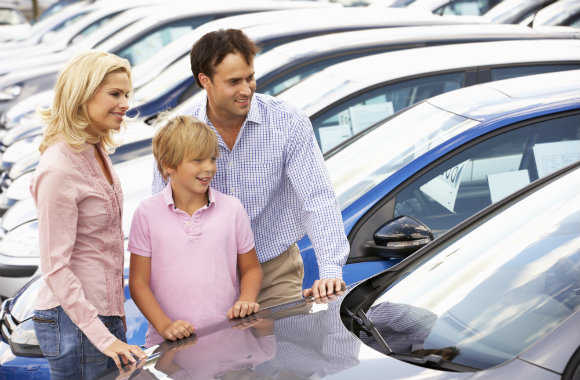 choosing a rental car