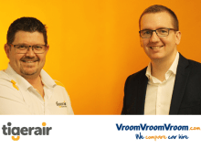 VroomVroomVroom TigerAir Partnership