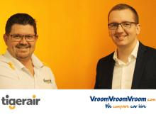 VroomVroomVroom TigerAir Partnership