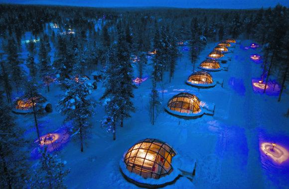 Kakslauttanen Arctic Resort, Lapland, Finland