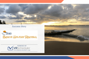 2540 Beach Holiday Rentals & VRScheduler