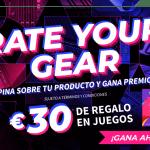Tu opinión en VS Gamers, ahora tiene premio con Rate Your Gear de Asus