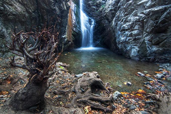 водопад Кипра