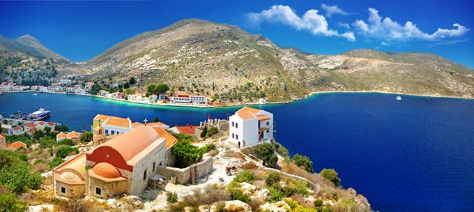 Кастелоризо остров, Греция