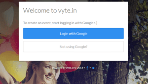 vytein Google Login