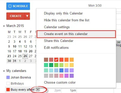 vyte-in-create-an-event-google-calendar-as-busy-for-a-recurring-event