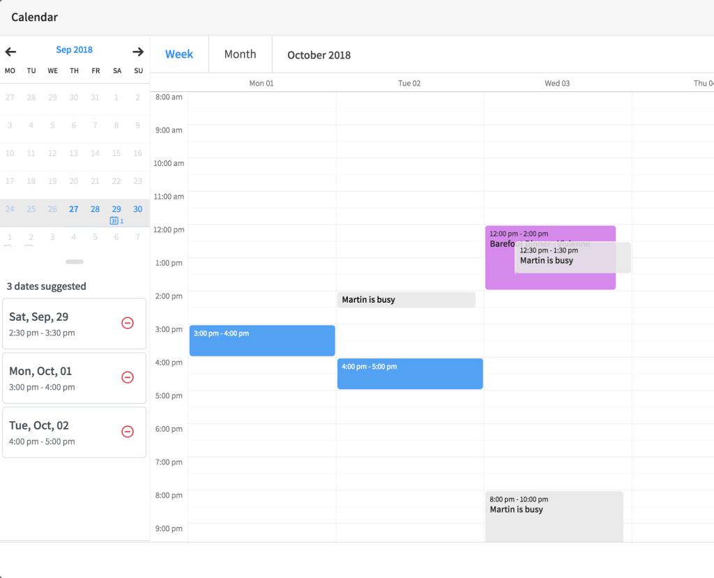 Vyte Calendar