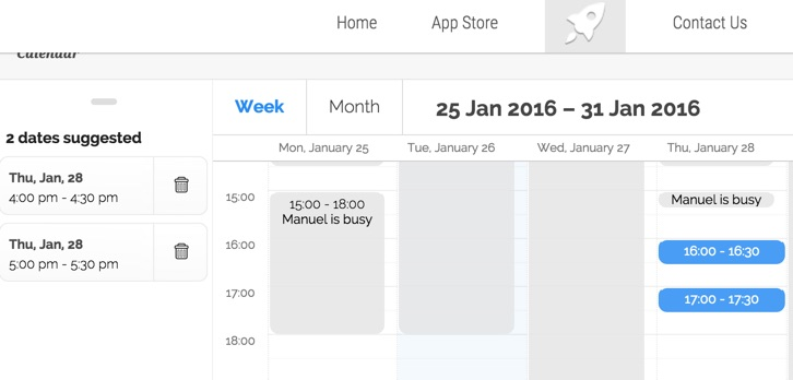 Scheduling-page-integrated-with-website-vyte-calendly-alternative