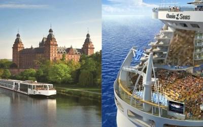 River Cruises Vs. Ocean Cruises