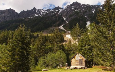 Washington Ghost Towns and Desolate Places