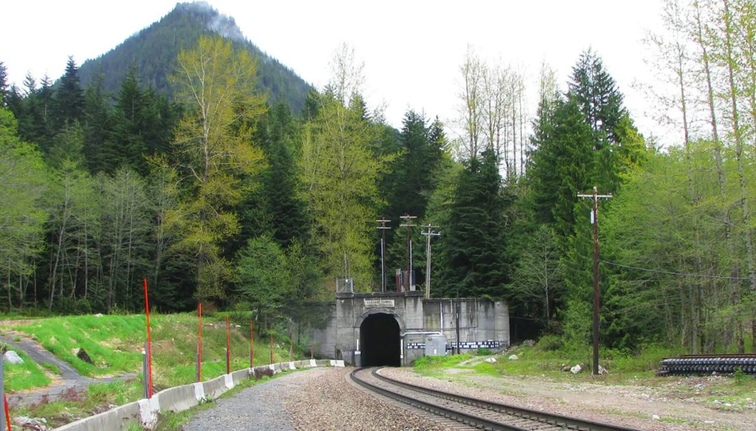 Cascade Tunnel West Portal